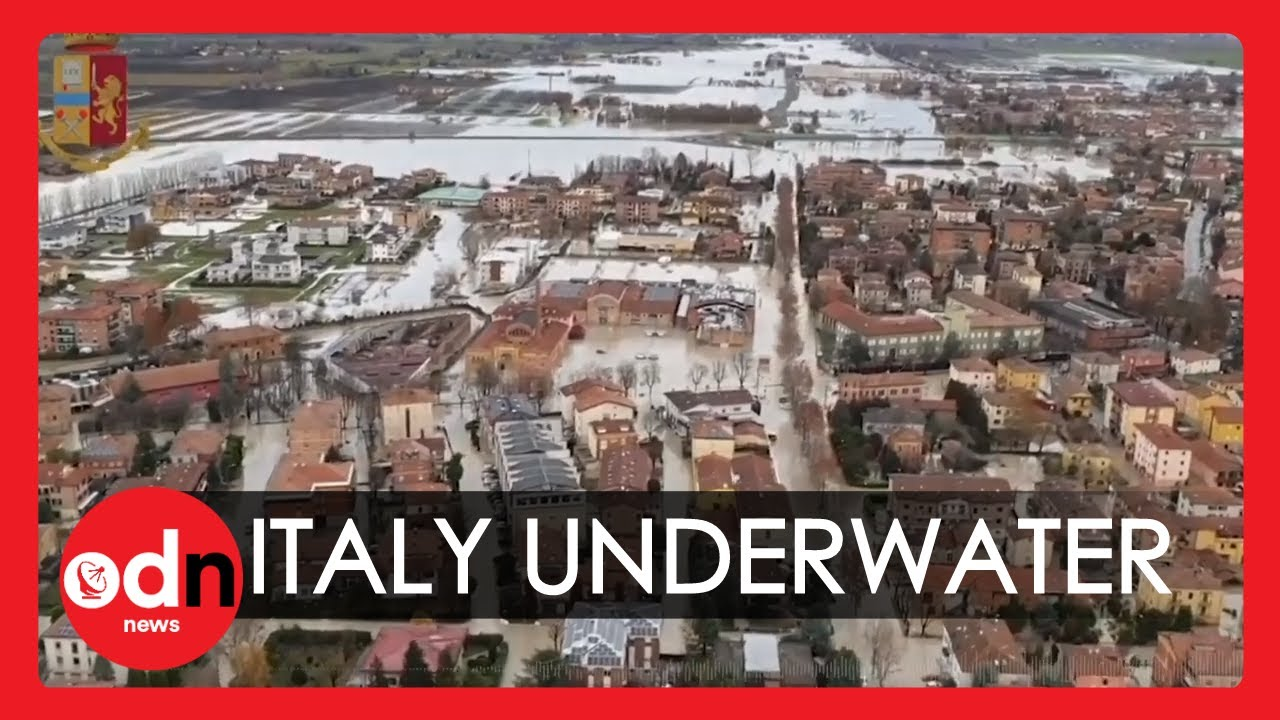 Extreme Weather: Northern Italy Hit With Severe Flooding and Snowfall