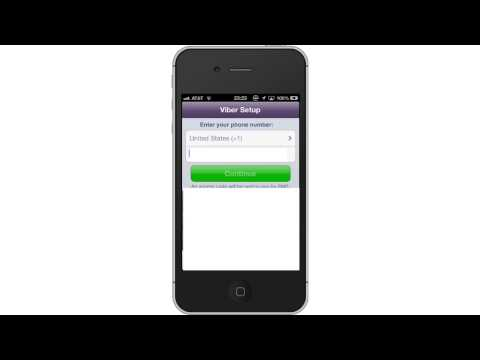How To Set Up Viber App For IPhone And IPad