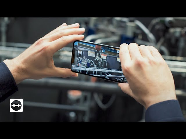 Reduce Machine Downtime With TeamViewer Pilot Augmented Reality app