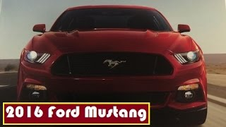 2016 Ford Mustang, leaked for all colour by the brochure