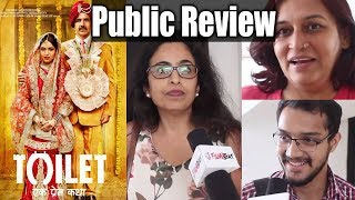 Toilet Ek Prem Katha Public Review | Akshay Kumar | Bhumi Pednekar | Movie Review | FilmiBeat