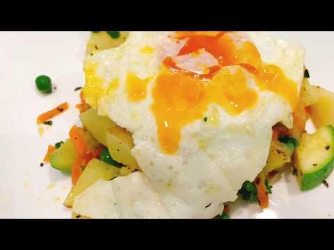 Potato & Egg Breakfast Skillet