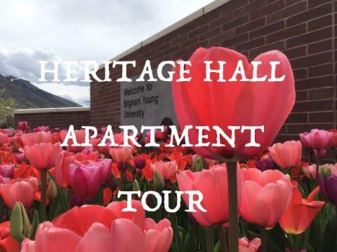 Heritage Halls Apartment Tour | BYU| Ellie Wright