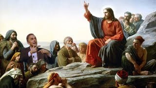 """The Sermon on the Mount is the key document in the New Testament.\"" Jordan Peterson"