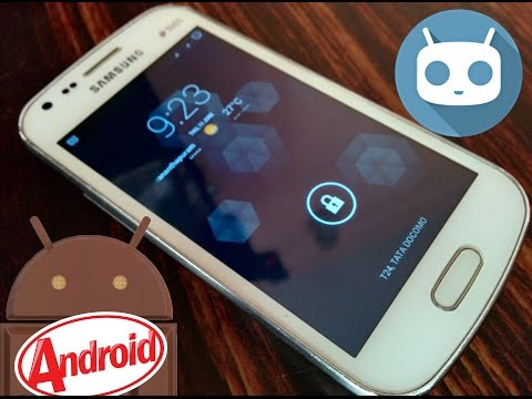 Tutorial : Install CM 11 RC3 For Samsung Galaxy S Duos [GT-S7562]