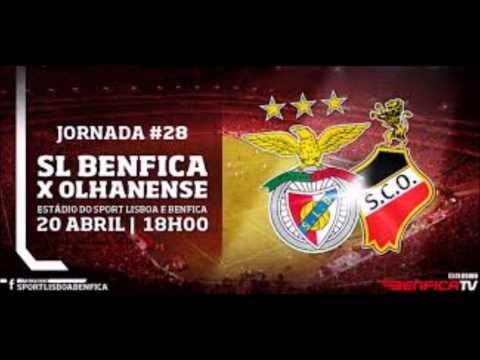 Benfica 2 0 Olhanense - Relato dos golos de Lima RR