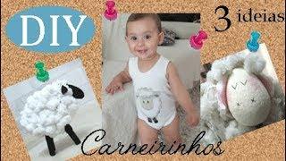 3 Ideias de Carneirinhos por Camila Camargo