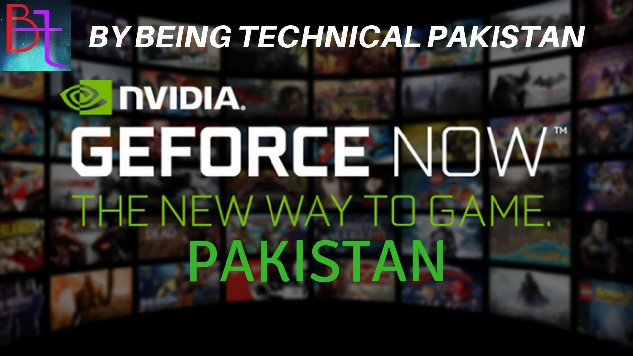 How to Access Nvidia GeForce NOW in Pakistan | Cloud Gaming??
