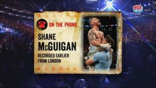 Shane McGuigan on what's next for Carl Frampton -