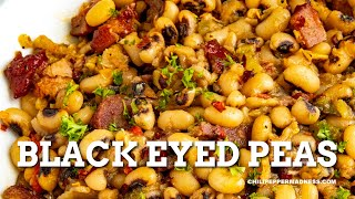 Black eyed peas recipe - chili pepper madness