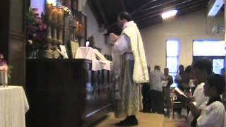 """Traditional Tridentine Latin Mass"", Part III, Agana Heights, Guam USA"