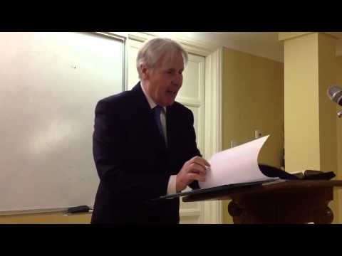 The Person and Work of the Lord Jesus - Mr Ian Shaw