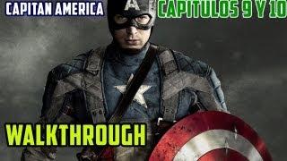 Capitán América Supersoldado: Walkthrough en Español / Capitulos 9 y 10