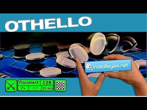"La vidéorègle du jeu "" Othello "" (ou Reversi) par Yahndrev (#128a)"