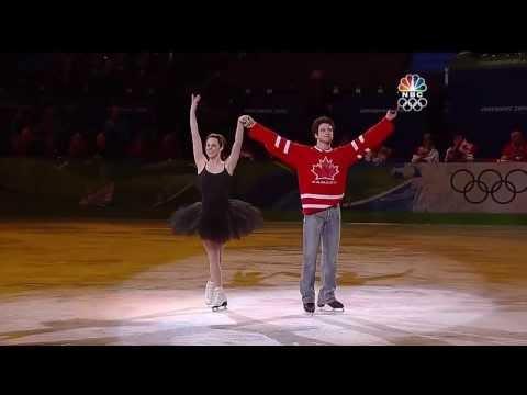 "Tessa Virtue & Scott Moir - 2010 Vancouver Olympics Gala - ""Everybody Dance Now"" [HD]"