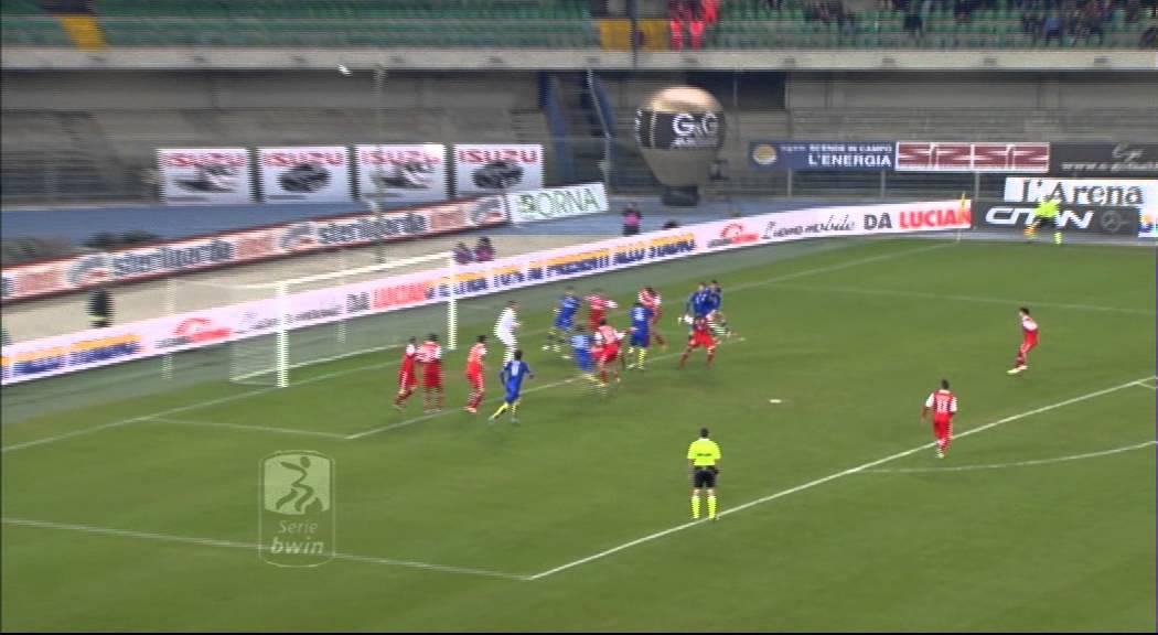Hellas Verona - Padova 0-2 Highlights 29^ Giornata Serie ...