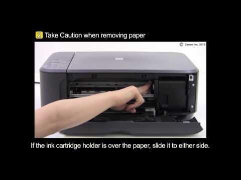 Fixing a Paper Jam - HP LaserJet 1020 Printer | FunnyCat.TV