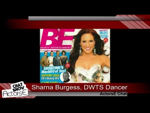 Dancer Sharna Burgess (Dancing With The Stars) on ActorsE Chat with host Yi Tian