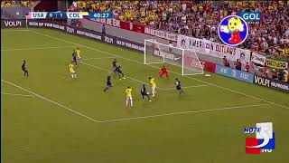 Colombia derrotó a Estados Unidos en amistoso en Tampa , Florida