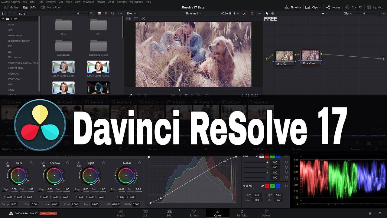Download And Install Blackmagic Design Davinci Resolve 17 Free Version Nov 9 2020 Released Youtube