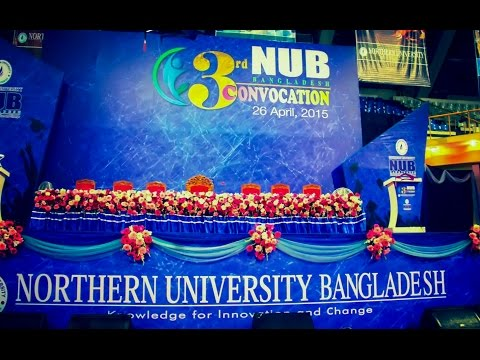 NUB 3rd Convocation - 2015
