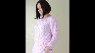 Женские Молодежные Вязаные Свитера Спицами - 2019 / Women's Youth Knit Sweater Knitting