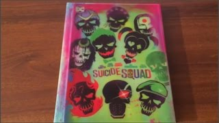 Suicide Squad Target Exclusive Blu Ray Unboxing
