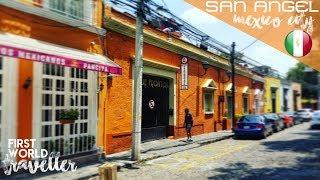 SAN ANGEL MEXICO CITY - MUMMIES and INCREDIBLE TACOS! | MUSEO DE EL CARMEN *Tradducion en Espanol*