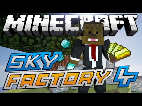 """Minecraft Modded Sky Factory """"TROLLING QUENTIN"""" Lets Play #4"""