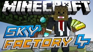 "Minecraft Modded Sky Factory ""TROLLING QUENTIN"" Lets Play #4"