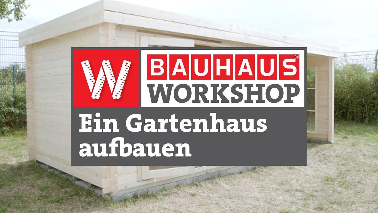 Blockbohlenhaus Mikka Holz Grundflache 3 6 M Wandstarke 19 Mm Satteldach Bauhaus