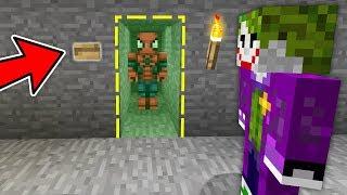 ÖRÜMCEK ADAM GİZLİ ODADA SAKLANIYOR YAKALANACAK MI? - Minecraft