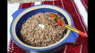 How to make Buckwheat/Kasha/My Grandmother
