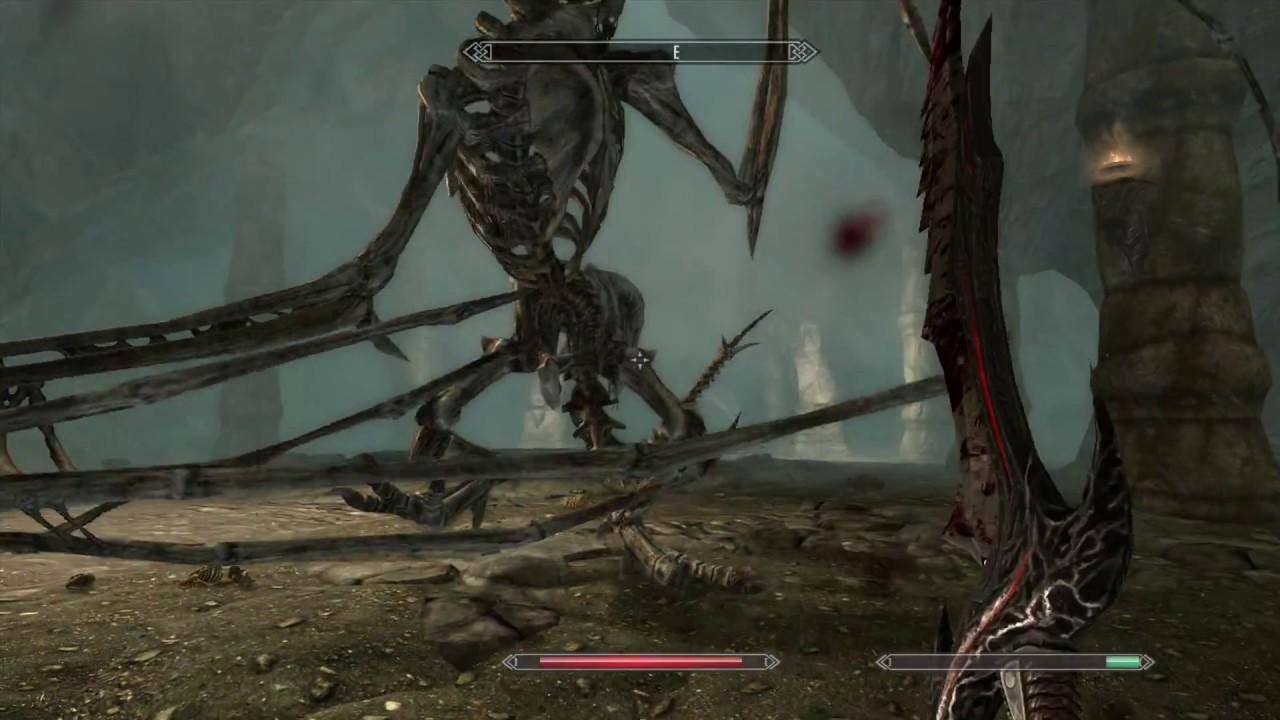 skyrim skeletal dragon
