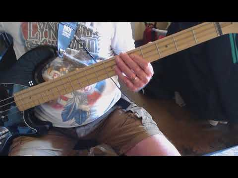 Lay it on down    Kenny Waynes Shepherd Band   Bass cover