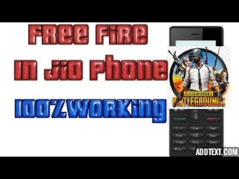 download garena free fire in jio phone