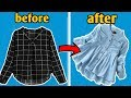 Girls top from old shirt || reuse of men shirt || latest style top || fashion yug