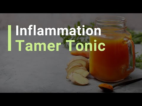How To Make an Inflammation Tamer Tonic