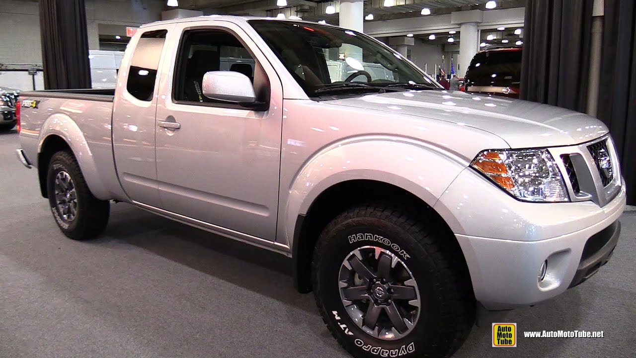 2015 nissan frontier pro 4x exterior and interior walkaround 2015 new york auto show youtube. Black Bedroom Furniture Sets. Home Design Ideas