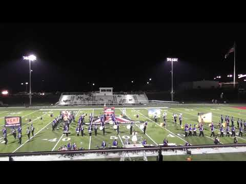 100519 Rehobeth High School Band at the A-Town Invitational