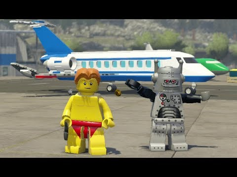 LEGO City Undercover - LEGO City Airport 100% Guide (All Collectibles)