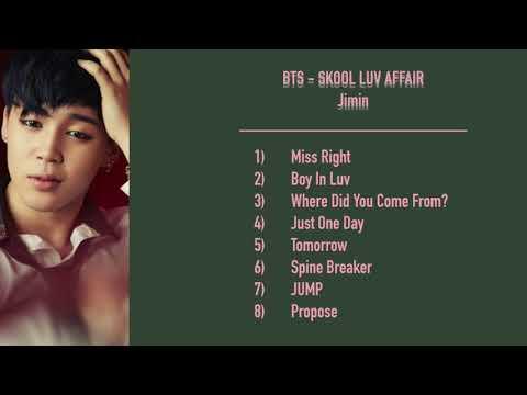 BTS - Skool Luv Affair - Jimin Cut