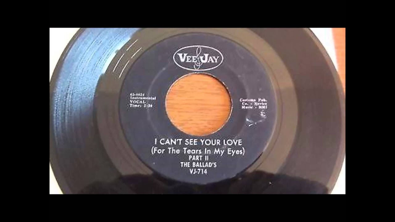 The Ballads   I can't see your love  1965