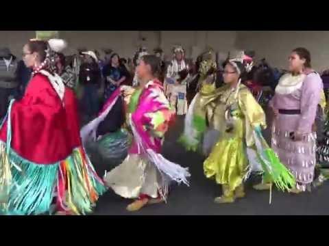 """INDIAN VILLAGE"" CALGARY STAMPEDE 2016."