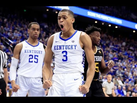 Keldon Johnson - Kentucky Highlights 2019