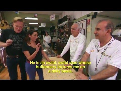 Conan Asks Sona's Family For Their Armenian Wishlist @ TeamCoco Com