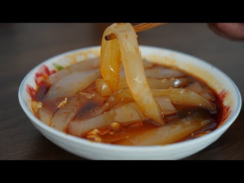 How does tiantian grandma make sweet potato jelly? Smooth, soft and flexible, it's simple