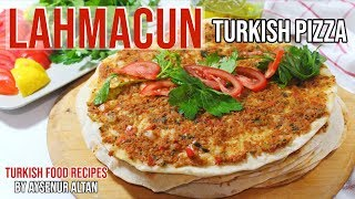 Lahmacun Recipe - How To Make Lahmacun In A Pan Without Oven