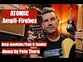 Download ATOMIC AMPLI-FIREBOX Amp Modeler/Cab IR Loader, demo by Pete Thorn MP3 song and Music Video