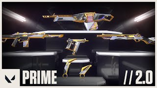 Weaponized Perfection // Prime 2.0 Skin Reveal Trailer - VALORANT